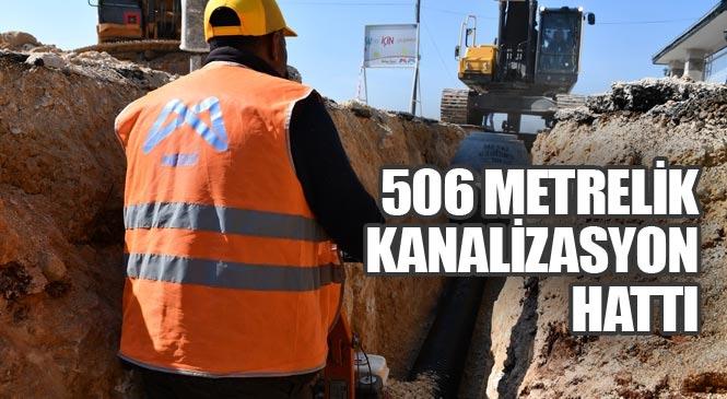 Akdeniz Yeşilçimen Mahallesi'nin Kanalizasyon Hattı İhtiyacı Giderildi