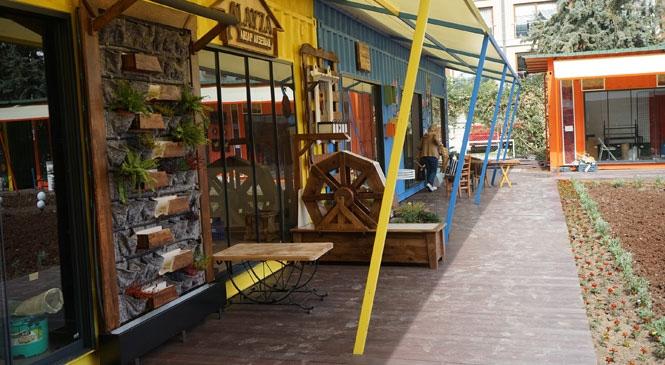 Mezitli Belediyesi Sanat Çarşısı Açılıyor