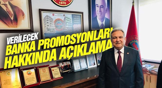 """TÜED Genel Mali Sekreteri Ömer Kurnaz Banka Promosyonlarına İlişkin Açıklama Yaptı """"Promosyon Ödemeleri Beklentinin Altında Kaldı"""""""