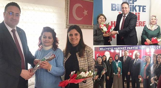 Tarsus Ziraat Odası Başkanı Veyis Avcı, 8 Mart Emekçi Kadınlar Günü Dolayısıyla Anlamlı Bir Davranışa İmza Attı