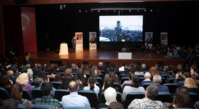 Cüneyt Özdemir, Mersin'de İletişimin Alfabesini Kendi Tecrübeleriyle Anlattı