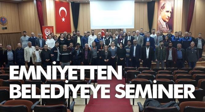 Mersin Polisinden Bağımlılığa Karşı Etkinlik Çalışmaları