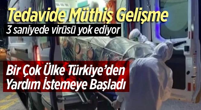 """Koronavirüse Karşı Türkiye'den Flaş Tedavi Yöntemi """"Türk Işın Tedavisi"""""""
