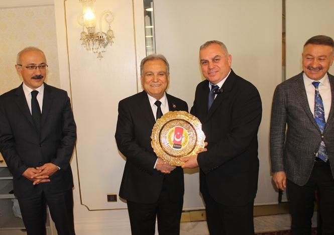 Tarsus Gazeteciler Cemiyeti'nden Ankara Çıkarması! İhtiyaçlar İletilip, Devam Eden ve Yeni Kazandırılacak Projeler Görüşüldü