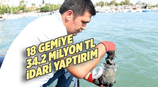 Mersin'de Yapılan Denetimlerde Toplamda 18 Gemiye 34 Milyon 175 Bin 572 TL İdari Yaptırım Uygulandı