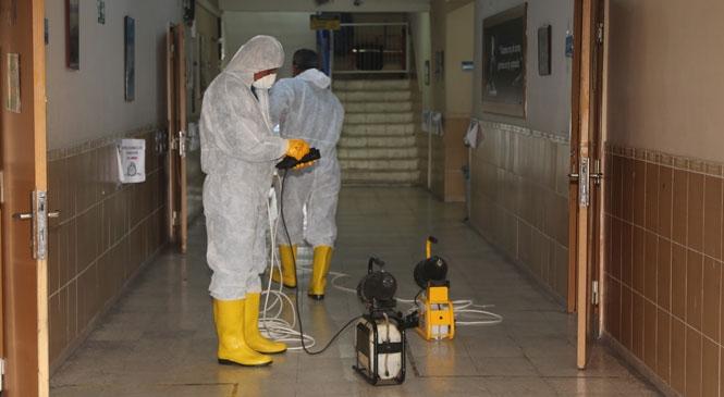 Erdemli Belediyesi'nin Corona Virüs Mücadelesi Hız Kesmiyor