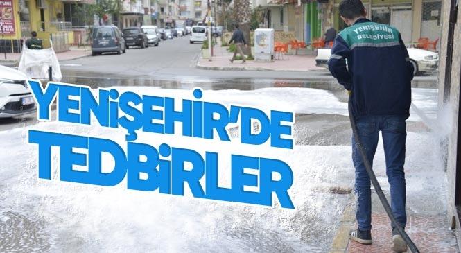 Yenişehir Belediyesi Tedbiri Elden Bırakmıyor