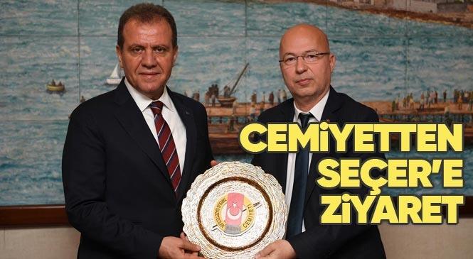 Tarsus Gazeteciler Cemiyeti'nden, Büyükşehir Belediye Başkanı Seçer'e Ziyaret