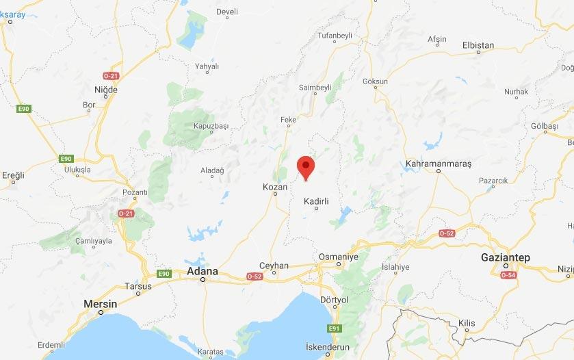Merkez Üssü Gafarlı - Sumbaş Osmaniye Olan 3.6 Büyüklüğünde Deprem Meydana Geldi