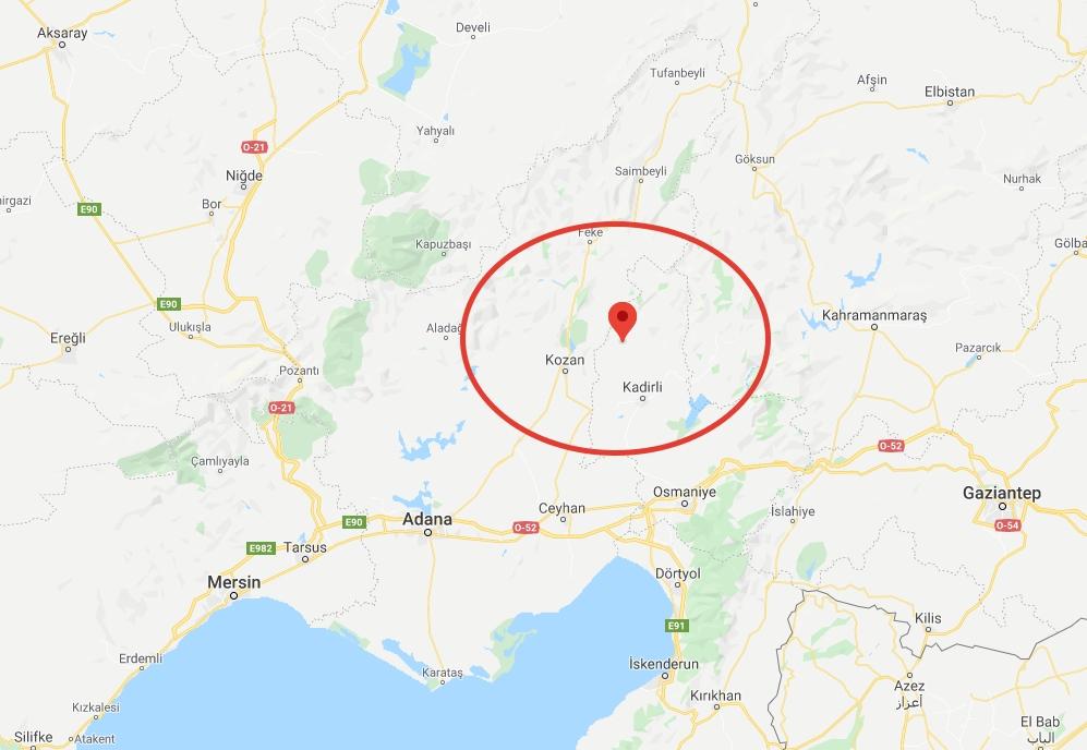 Merkez Üssü Gafarlı - Sumbaş Osmaniye Olan 4.0 ve 3.3 Büyüklüğünde Deprem Meydana Geldi