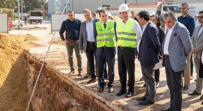 Başkan Seçer, Akkent, Batıkent ve Eğriçam Mahallelerini Kapsayan Çalışmaları Yerinde İnceledi