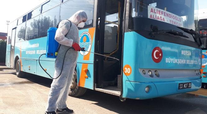 Mersin, Koronavirüs'e Karşı Önlemler Aralıksız Sürüyor