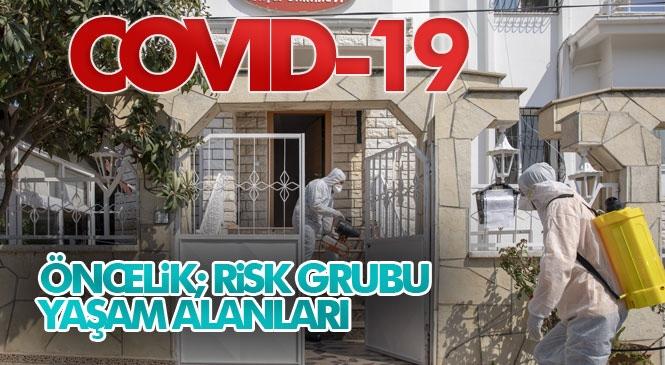 Mersin'de Dezenfekte Çalışmaları! Anamur'dan Tarsus'a Tüm İlçelerden Gelen Dezenfeksiyon Malzeme Talepleri Karşılanıyor