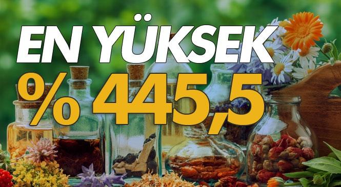 Bitkisel Ürünlerde En Yüksek Yeterlilik Derecesi %445,5 İle Fındıkta Gerçekleşti