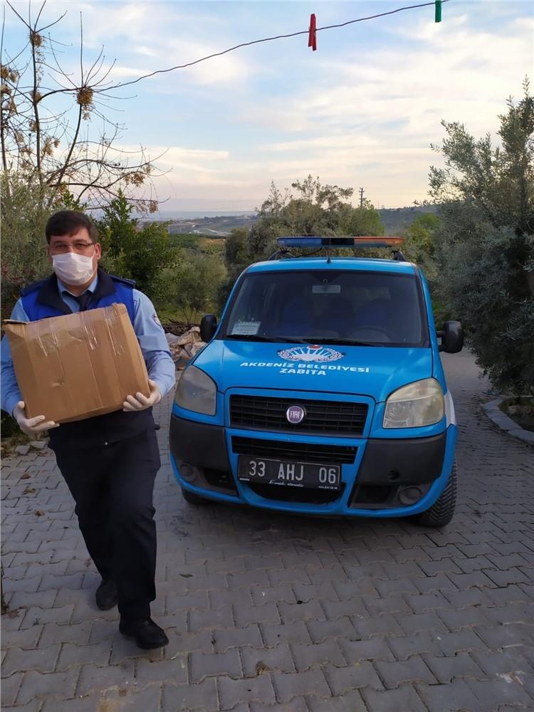 Akdeniz'de Vefa Sosyal Destek Grubu İlk Çalışmalarına Başlad