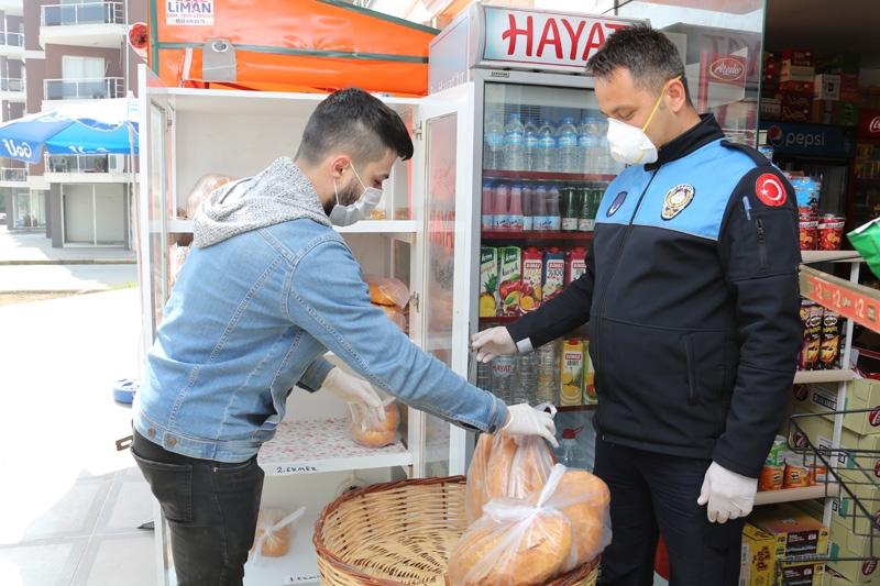 Erdemli'de Fırın ve Bakkallarda ''Ambalajlı Ekmek'' Denetimi