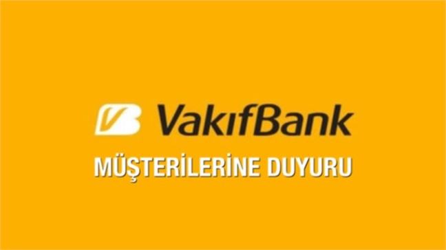 Vakıfbank'tan 9 Maddelik Destek Paketi