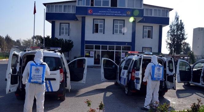 Akdeniz Belediyesi, Koronavirüs Salgınına Karşı 7/24 Ayakta