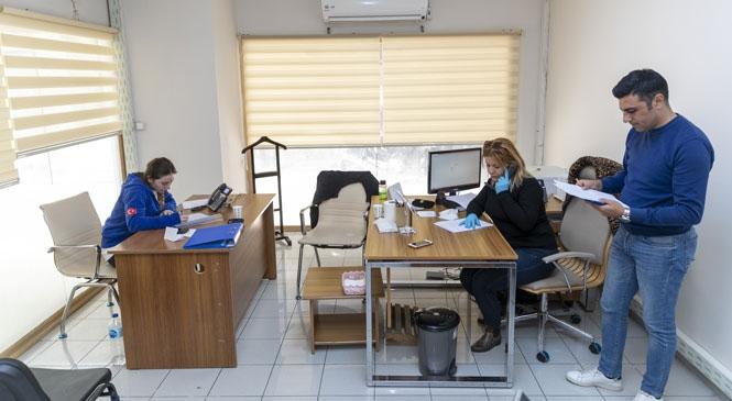 Mersin'de Kriz Merkezi 1 Haftada 702 Çağrıyı Cevapladı, 2 Bin 317 Alan Dezenfekte Edildi