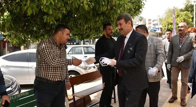 Anamur Belediyesi Maske Dağıtımına Başladı