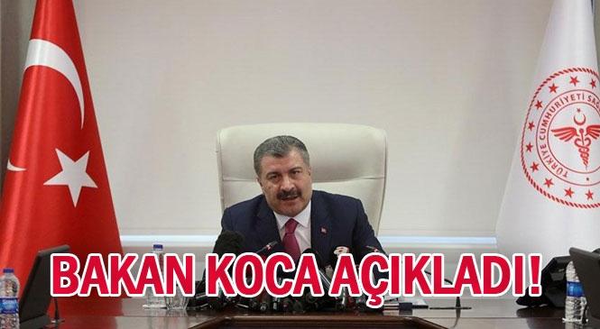 Dr. Fahrettin Koca, Şuana Kadar Türkiye'deki Vaka Sayısını 2 Bin 433, Hayatını Kaybedenlerin Toplam Sayısını 59 ve 24 Saatte Yapılan Test Sayısını ise 5 Bin 035 Olarak Açıkladı