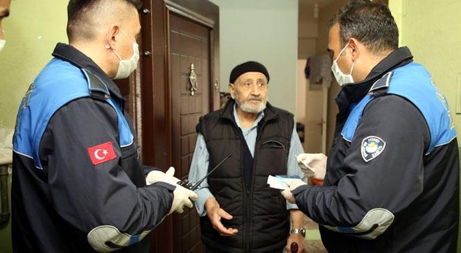 Akdeniz Belediyesi Zabıta Ekipleri, Yaşlı Vatandaşların Hizmetine Koşuyor!