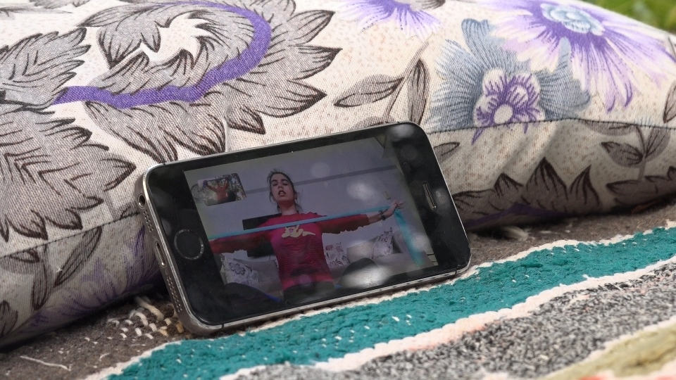 Erdemli'de Sağlıklı Yaşam İçin ''Online Spor Danışmanlığı''