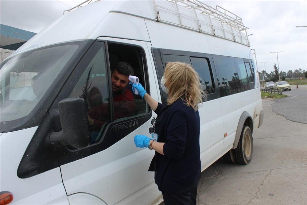 Tarsus'ta Corona Tedbirleri İlçe Emniyet Müdürlüğüne Bağlı E