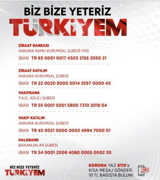 Cumhurbaşkanı Erdoğan'dan ''Biz Bize Yeteriz'' Yardımlaşma K