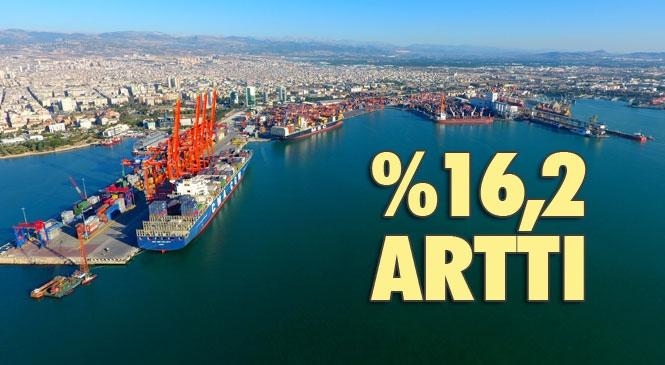 İhracat Adana'da %0,8 , Mersin'de %16,2 Arttı