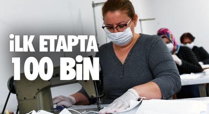 Mersinden Koop Öncülüğünde Gönüllü Kadınlar Koronavirüs'e Karşı Vatandaşlara Maske İle Siper Olacak