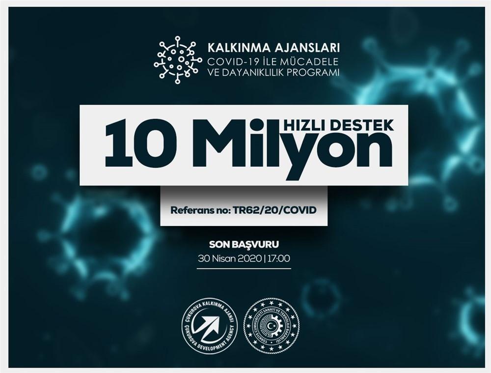 ÇKA'nın 10 Milyon Lira Hızlı Destek Programı İçin Son Başvur