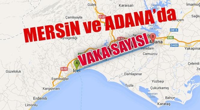 Mersin, Adana, Antalya ve Hatay'da Koronavirüs (Covid-19) Vaka ve Ölen Sayısı! Bakan Fahrettin Koca İl İl Korona Virüs Sayısını Paylaştı: Mersin'de Kaç Vaka Var
