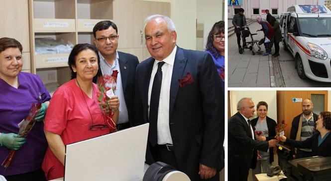 """Erdemli Belediye Başkanı Mükerrem Tollu, 7-13 Nisan """"Dünya Sağlık Haftası"""" Nedeniyle Mesaj Yayımladı"""