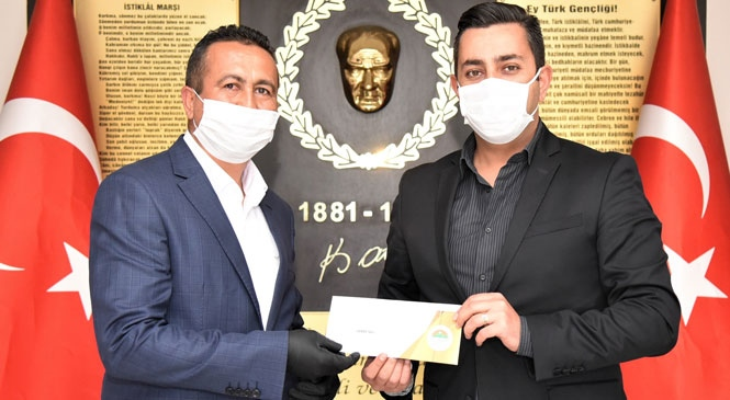 Başkan Yılmaz'dan, Mersin'deki Tüm Polislere Mektup