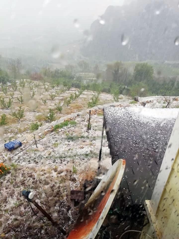 Dolu Yağışı Kötü Vurdu! Mersin'in Merkez Mezitli, Akdeniz, Y