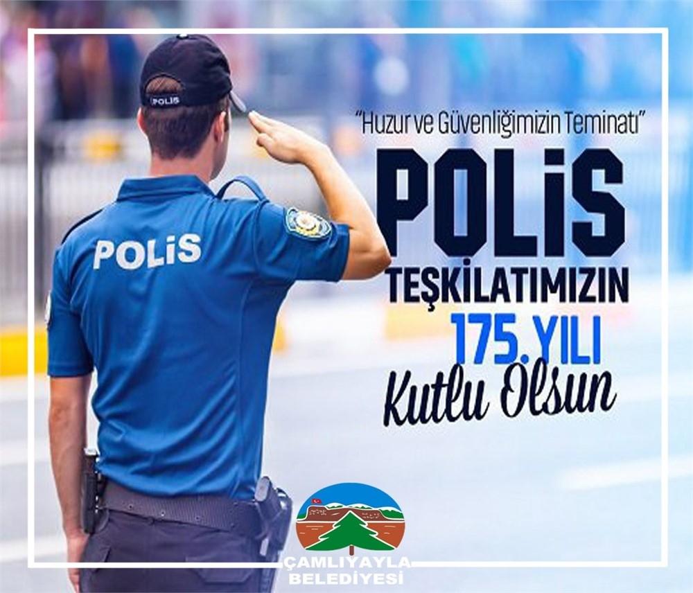 Çamlıyayla Belediye Başkanı İsmail Tepebağlı'dan Polis Teşki