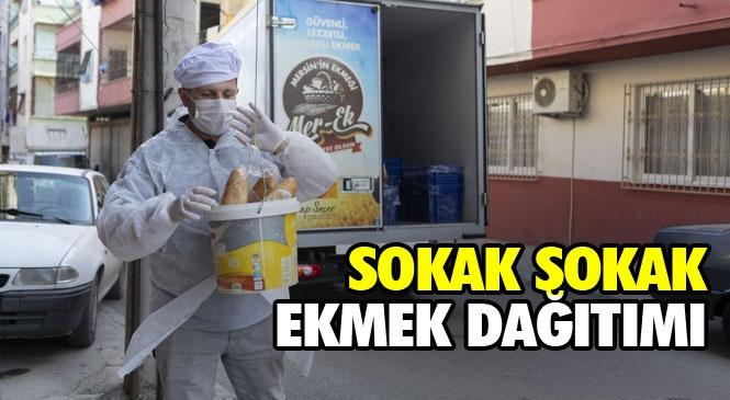 Mersin'de, 14 Bin 700 Ekmek Dar Gelirlilere Ücretsiz Dağıtıldı! MER-EK Kapasiteyi Artırdı, Yaşanabilecek Ekmek Mağduriyetinin Önüne Geçti