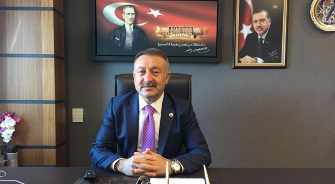"""AK Parti Mersin Milletvekili Hacı Özkan, """"Bu Zor Günleri Birlik, Beraberlik ve Kardeşliğimizi Muhafaza Ederek, Aşacağız"""""""