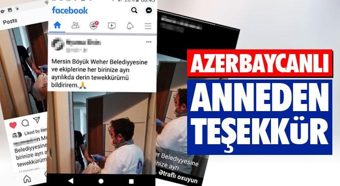 Bakü'deki Anne Talep Etti, Mersin Büyükşehir Ekipleri Azerbaycanlı 3 Öğrencinin Kaldığı Eve Ekmek Ulaştırdı