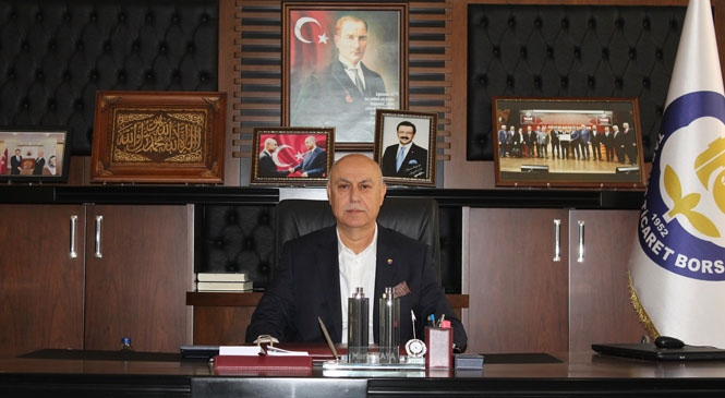 """Başkan Murat Kaya """"İhracat İçin Tarıma Destek Şart"""""""