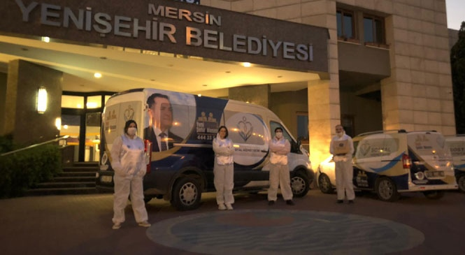 Yenişehir Belediyesi Hafta Sonu Tam Mesai Yaptı
