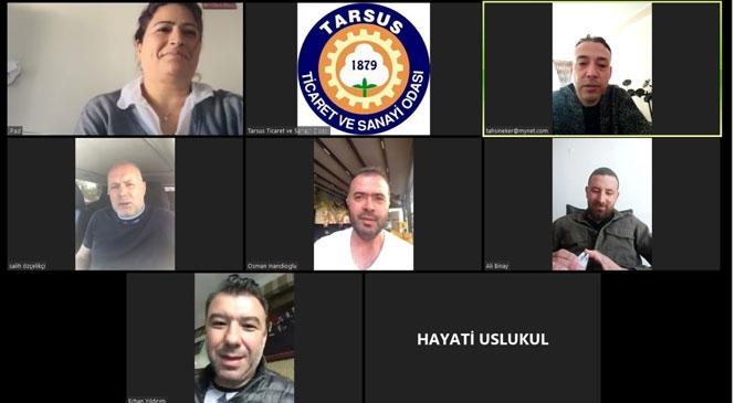 Komiteler Video Konferansla Sektörlerini Değerlendiriyor