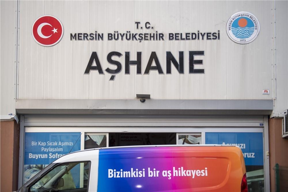 Mersin'de Belediye Aşhanesi Koronavirüs Sürecinde Performans