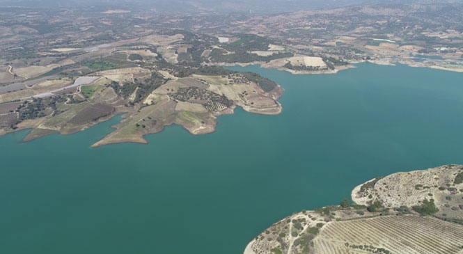 MESKİ, Su Havzalarını Havadan Görüntüleme İle Kontrol Ediyor
