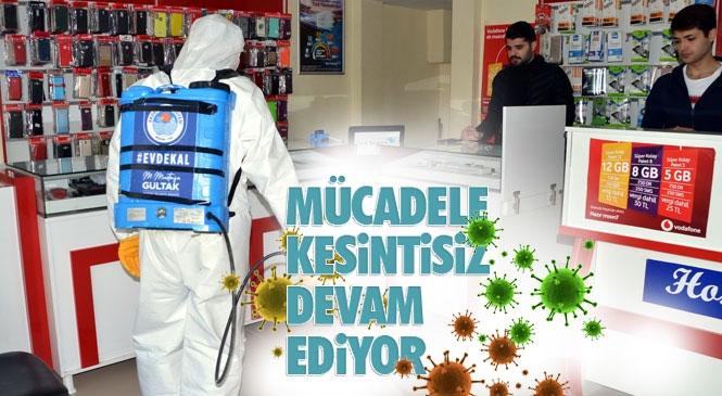 Akdeniz'de Koronavirüs Salgını İle Mücadele Kesintisiz Devam Ediyor