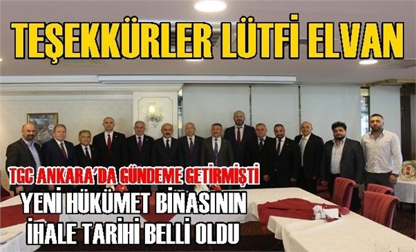 Elvan Konuştu, Soylu Söz Verdi: Tarsus'a Yapılacak Yeni Hükümet Konağının İhale Tarihi Belli Oldu