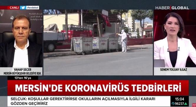 """Büyükşehir Belediye Başkanı Seçer: """"Merkezi Yönetimin Tüm Yerel Yönetimlere Bir Destek Paketi Hazırlaması Gerekiyor"""""""