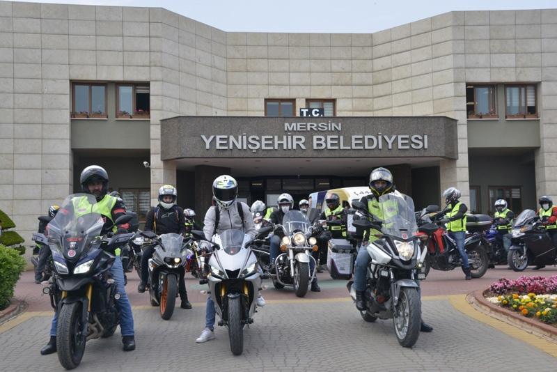 Yenişehir Belediyesi, Mersin Motosiklet Spor Kulübü üyeleri