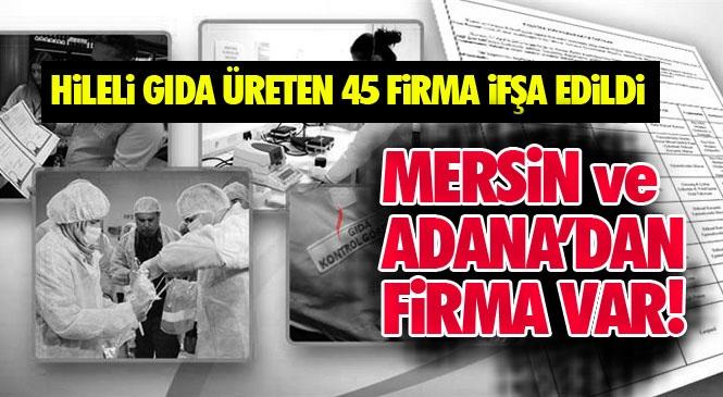 Mersin ve Adana'dan Firmalar Var! Taklit, Tağşiş Yapıldığı Veya İlaç Etken Maddesi İlave Edildiği Tespit Edilen Toplam 45 Firmaya Ait 55 Parti Ürün Bakanlık Tarafından Duyuruldu